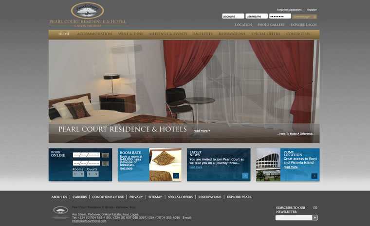 home web design. Our Web Design Portfolio