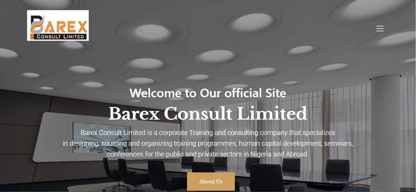 Barex Consult Ltd - corporate training and consulting company.