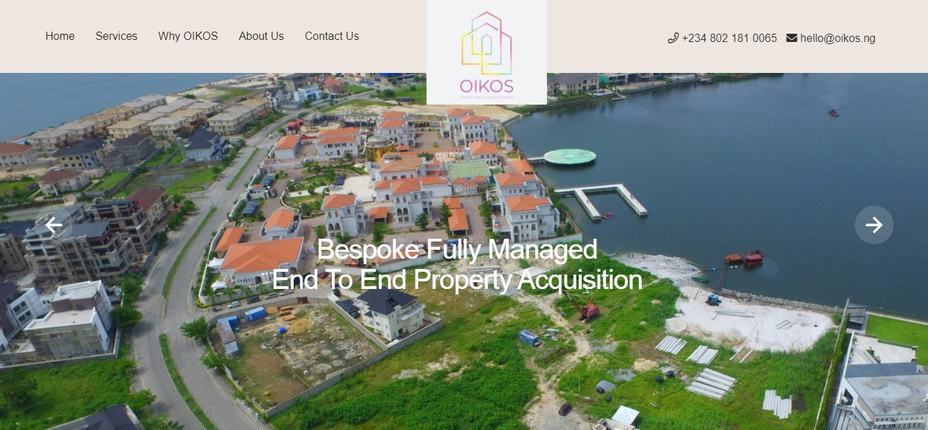 Oikos.ng - Sourcing and acquiring the finest property